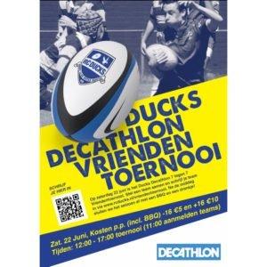 Vriendentoernooi 7 vs 7 @ Rugby Club Ducks